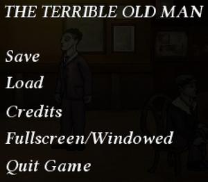 In-game menu and settings.