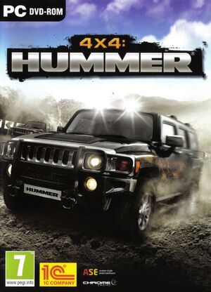 4x4 Hummer cover