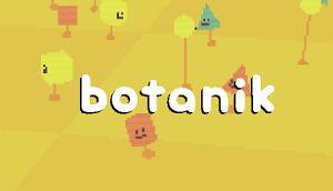 Botanik cover