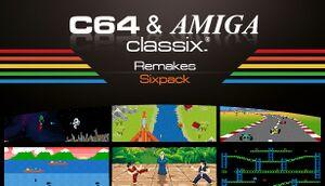 C64 & AMIGA Classix Remakes Sixpack cover
