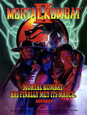 Mortal Kombat II cover