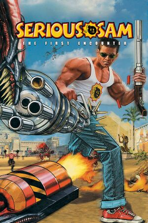 Serious Sam: The First Encounter cover