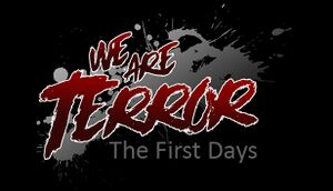 We Are Terror: The First Days cover
