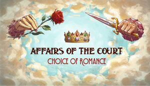 Affairs of the Court: Choice of Romance cover
