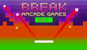 Break Arcade Games Out cover