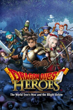 Dragon Quest Heroes:The World Tree's Woe and the Blight Below cover