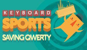 Keyboard Sports - Saving QWERTY cover