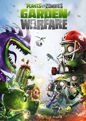 Plants vs. Zombies: Garden Warfare cover