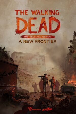 The Walking Dead: A New Frontier cover