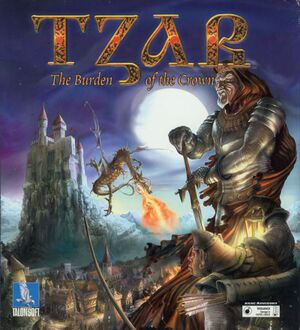 Tzar: The Burden of the Crown cover