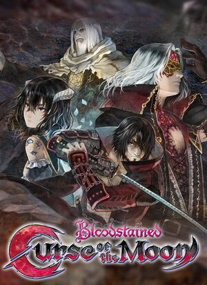 Bloodstained: Curse of the Moon cover