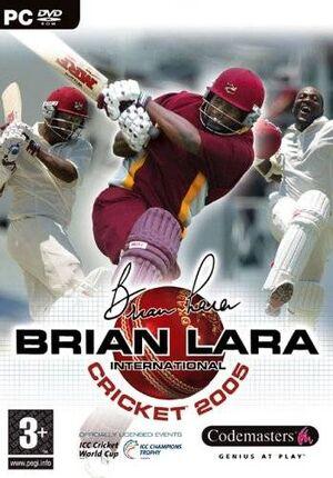 Brian Lara International Cricket 2005 cover
