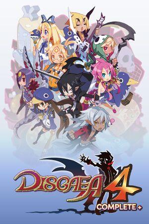 Disgaea 4 Complete+ cover