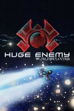 Huge Enemy - Worldbreakers cover