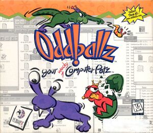 Oddballz: Your Wacky Computer Petz cover
