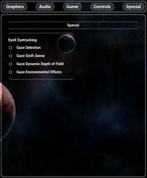 VR Options