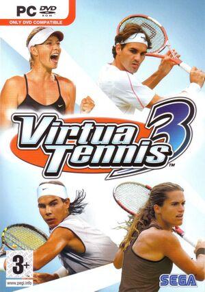 Virtua Tennis 3 cover