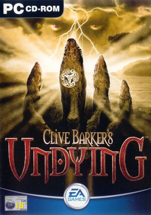 Clive Barker's Undying cover