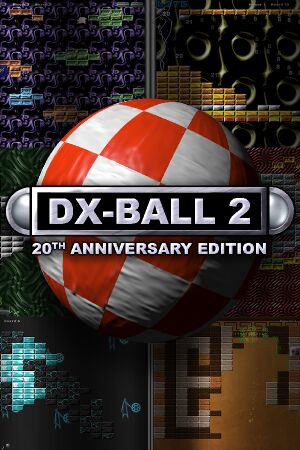 DX-Ball 2: 20th Anniversary Edition cover