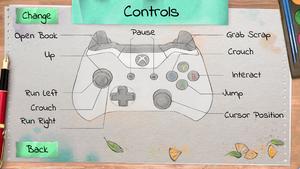 Default XInput layout