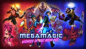 Megamagic: Wizards of the Neon Age cover