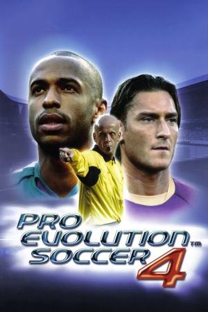 Pro Evolution Soccer 4 cover