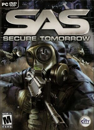 SAS Secure Tomorrow cover