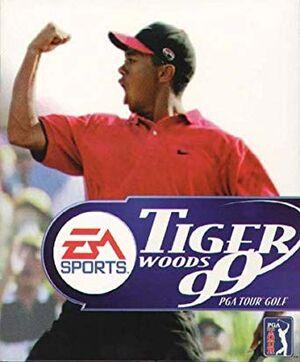 Tiger Woods 99 PGA Tour Golf cover