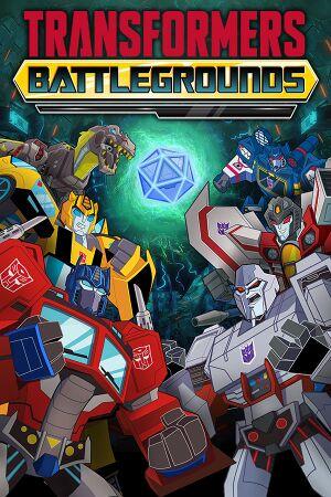 Transformers: Battlegrounds cover