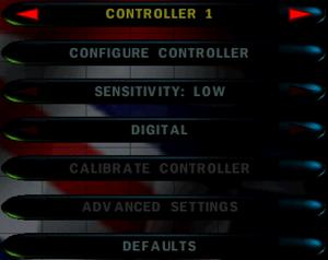 Controller setup