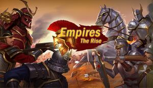Empires:The Rise cover