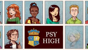 Psy High cover