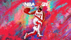 NBA 2K21 Arcade Edition cover