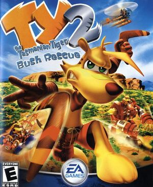 TY the Tasmanian Tiger 2 cover