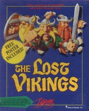 The Lost Vikings cover