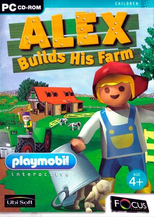 Alex Builds His Farm cover