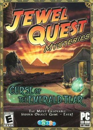 Jewel Quest Mysteries: Curse of the Emerald Tear cover
