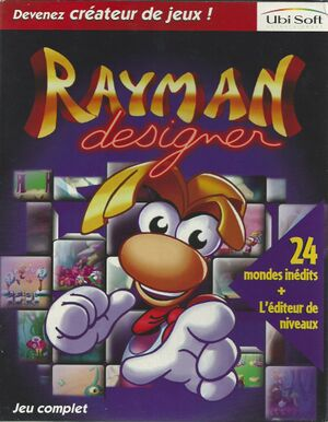 Rayman Designer cover