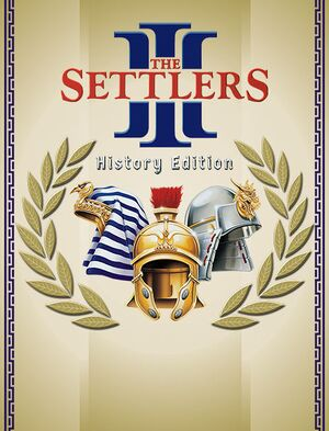 The Settlers III: History Edition cover