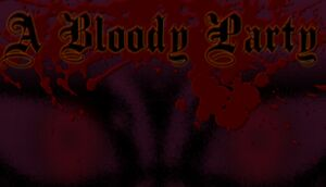 A Bloody Party cover