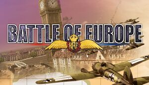 Battle of Europe cover