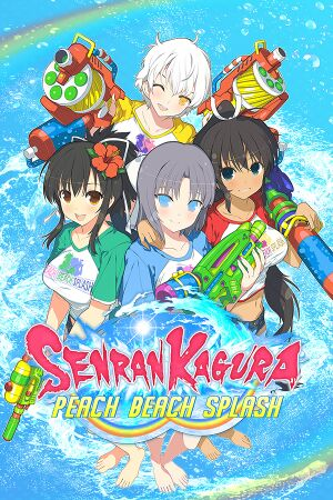 Senran Kagura Peach Beach Splash cover