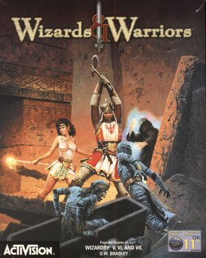Wizards & Warriors cover