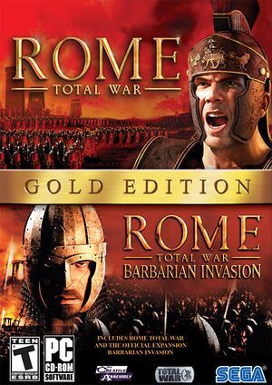 Rome: Total War cover