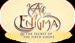 Age of Enigma: The Secret of the Sixth Ghost cover