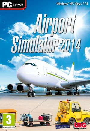Airport Simulator 2014 cover