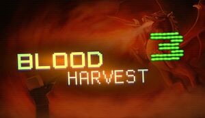 Blood Harvest 3 cover