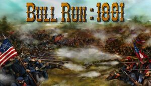 Civil War: Bull Run 1861 cover