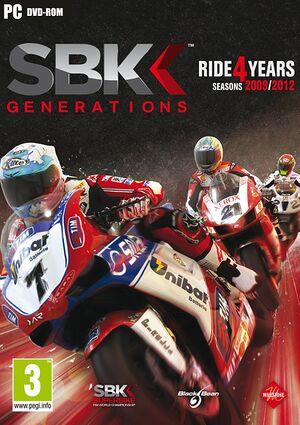 SBK Generations cover