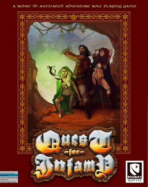 Quest for Infamy cover